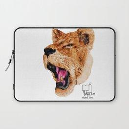 lion 2_head Laptop Sleeve