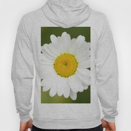 Beautiful Daisy Natural Green Background #decor #society6 #buyart Hoody
