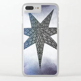Star day Clear iPhone Case