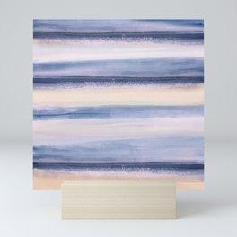 Beach Stripes Mini Art Print