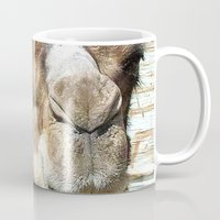 camel Mugs featuring camel by Laura Grove