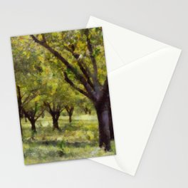 Painted Apple Orchards Stationery Cards