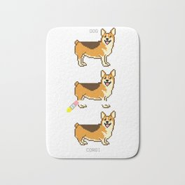 How To Make A Corgi Bath Mat