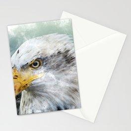 Bald Eagle Haliaeetus Stationery Cards