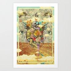 CANYON VISIONS Art Print