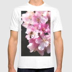 The taste of Spring MEDIUM Mens Fitted Tee White