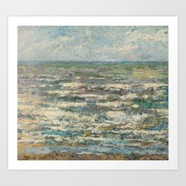 The Sea at Katwijk by Jan Toorop Art Print