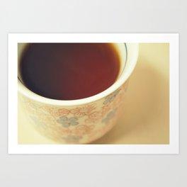 Cuppa Art Print