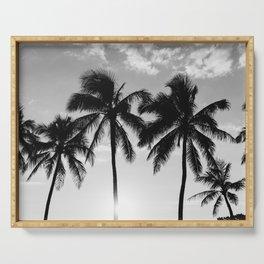 Hawaiian Palms II Serving Tray