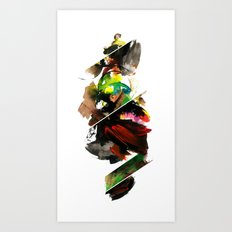 color study 1 Art Print