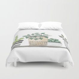 Plants 1 Duvet Cover