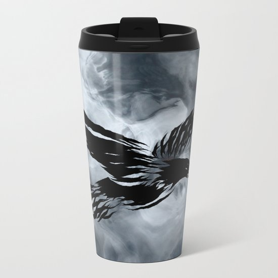 Turbulent Night Metal Travel Mug
