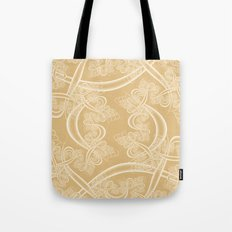 Neutral Fractal Tote Bag