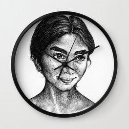 Emilie Strange Wall Clock