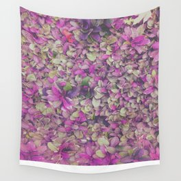 In Bloom on Steroids Wall Tapestry