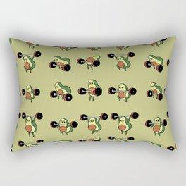 OLYMPIC LIFTING  Avocado Rectangular Pillow