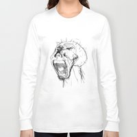 beast Long Sleeve T-shirts featuring Beast by Luis C. Araujo