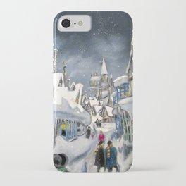 Snowy Hogsmeade iPhone Case