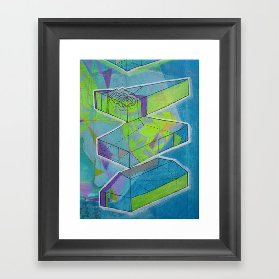 lemon attraction Framed Art Print