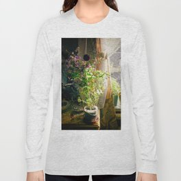 Vintage Classic Flower Still Life Long Sleeve T-shirt