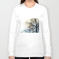 ombre Long Sleeve T-shirts featuring Ombre chinoise by Françoise Reina