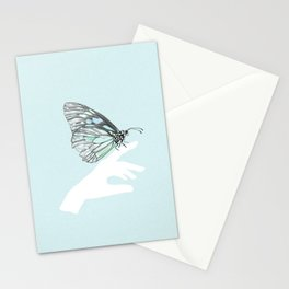 a friend in my hand 3 Stationery Cards