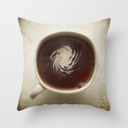 savor the flavor Throw Pillow