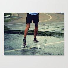 Run Forest, Run! Canvas Print