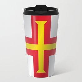 Flag of Guernsey Travel Mug