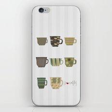 I {❤} Coffee iPhone & iPod Skin