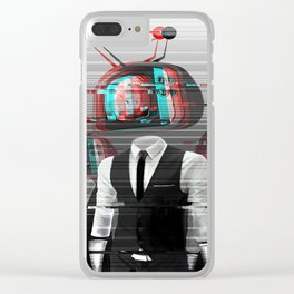 Please Stand By Clear iPhone Case