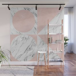 Modern geometric art IX Wall Mural