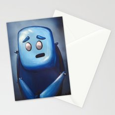 Hugh in Blue Stationery Cards