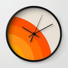Sunrise Rainbow - Right Side Wall Clock