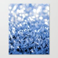 sparkle Canvas Prints featuring Sparkle by Brian Raggatt