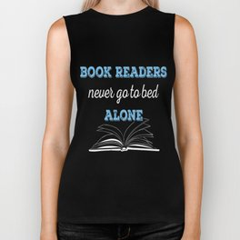 Book Reader Biker Tank