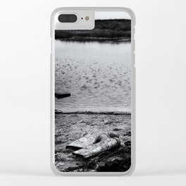 Unforeseen Circumstances Clear iPhone Case