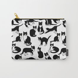 Tuxedo Cats Carry-All Pouch