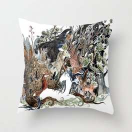 The Glass Menagerie Throw Pillow