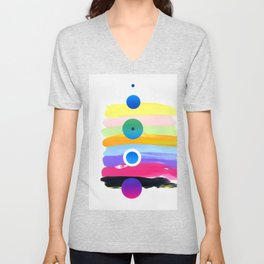 Orbit 8 Unisex V-Neck