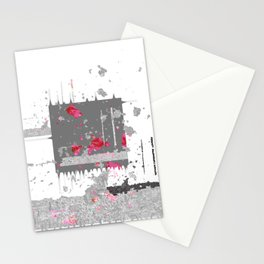 Chaos and Reverence Contemporary Abstract NO. 1 Stationery Cards