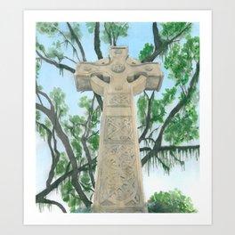 Celtic Morn Art Print