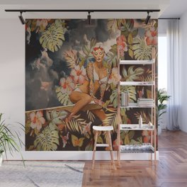 Swimming in the jungle Wall Mural