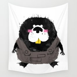 Missfits Beaver Wall Tapestry