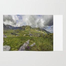 Glyderau Mountain Range Rug