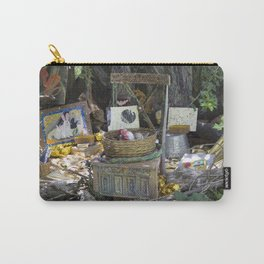 Rabbit's Storytelling Throne, No. 7 Carry-All Pouch