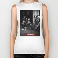 friday Biker Tanks featuring Friday by T-Hype (julianajace)