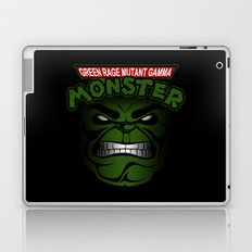 Green Rage Mutant Gamma Monster Laptop & iPad Skin