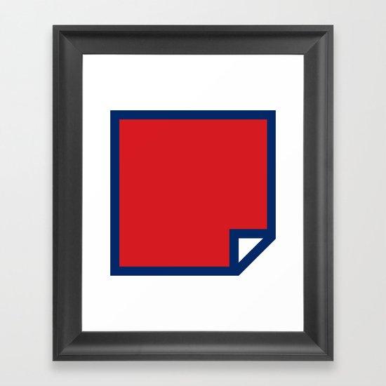 Lichtenswatch - Wham Framed Art Print