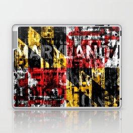 Maryland Flag Print Laptop & iPad Skin